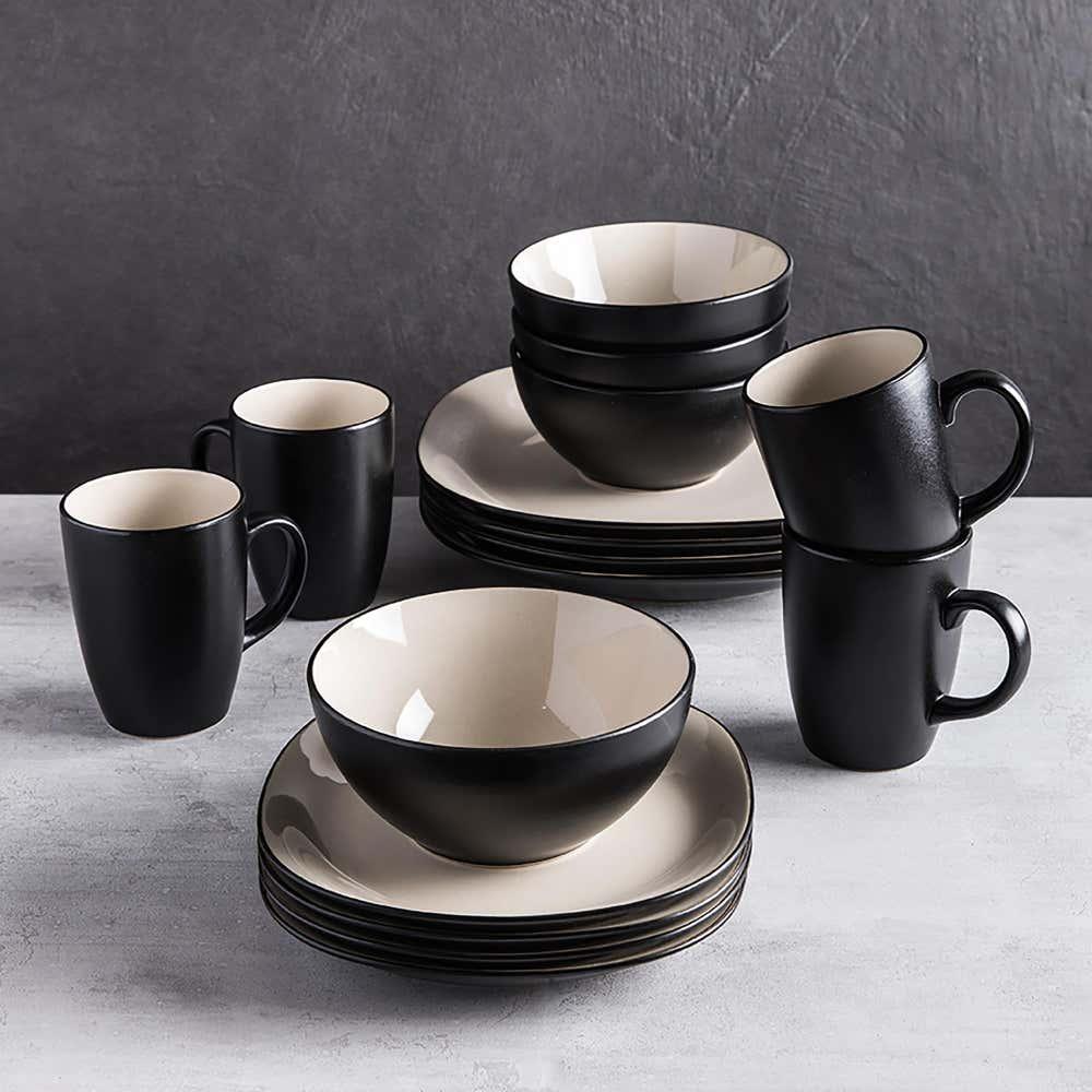 83102_Thomson_Pottery_Fontana_Stoneware_Dinnerware___Set_of_16__Black