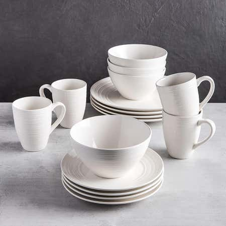 83104_Thomson_Pottery_Ripple_Stoneware_Dinnerware___Set_of_16__White