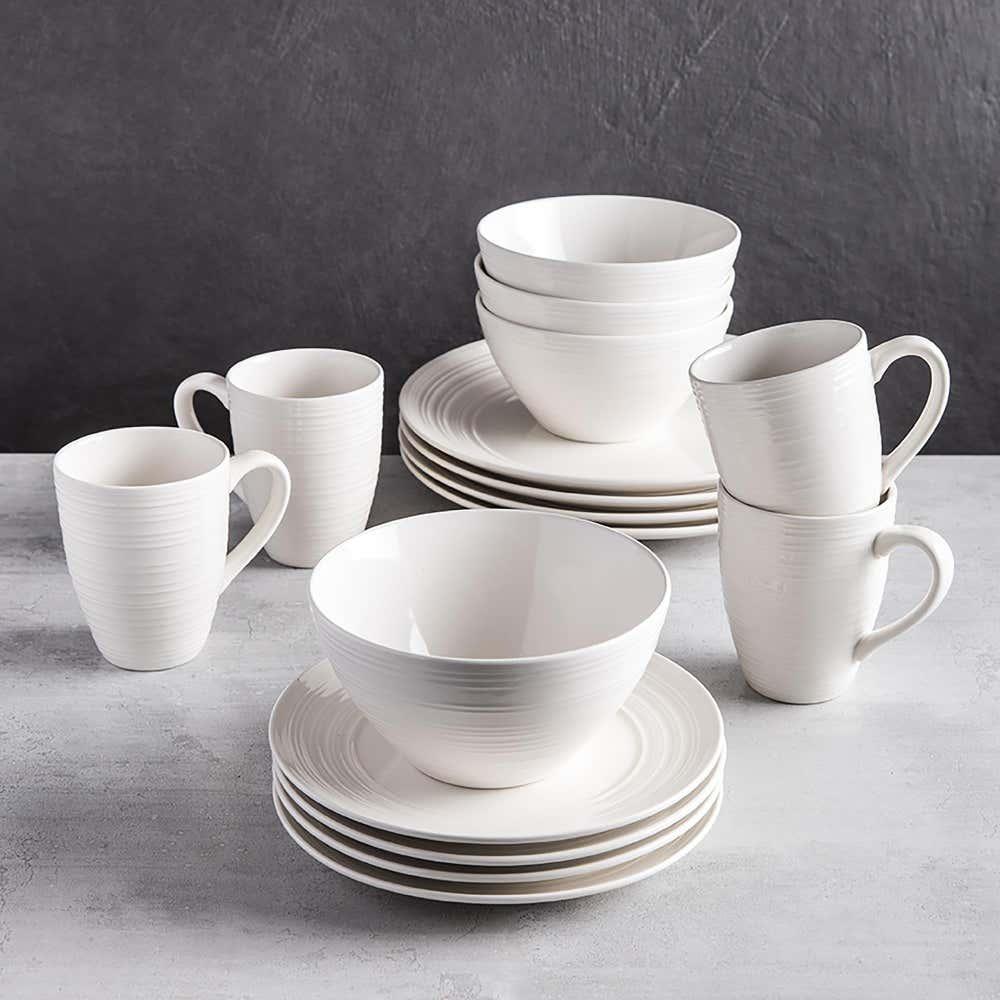 83104_Thomson_Pottery_Ripple_Stoneware_Dinnerware___Set_of_16__White