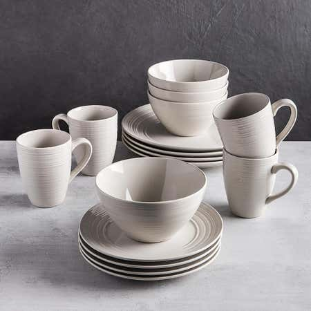 83105_Thomson_Pottery_Ripple_Stoneware_Dinnerware___Set_of_16__Linen