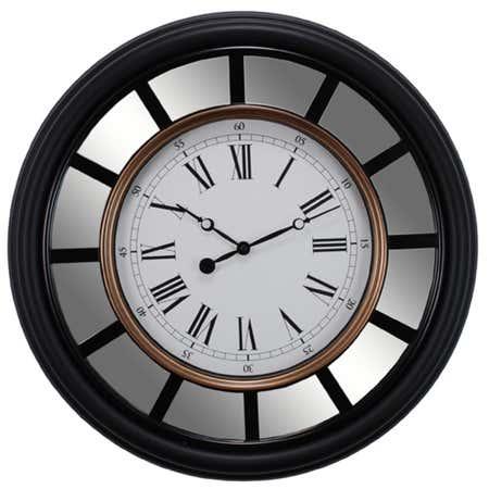 83300_AZ_Home_Vintage_Wall_Clock__Black