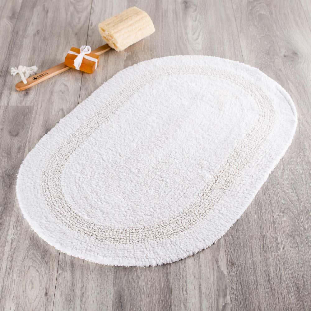 83523_Moda_At_Home_Serene_Reversible_Oval_Cotton_Bathmat__White