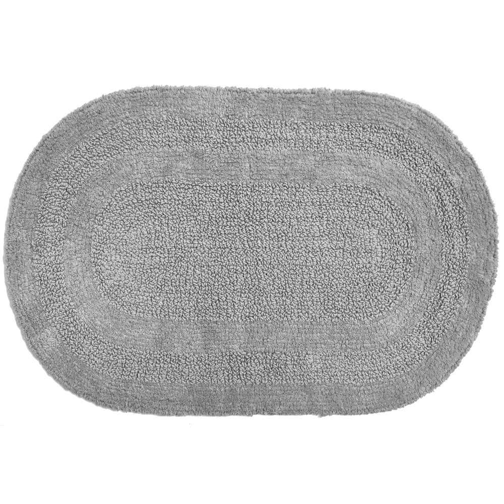 83525_Moda_At_Home_Serene_Reversible_Oval_Cotton_Bathmat__Grey