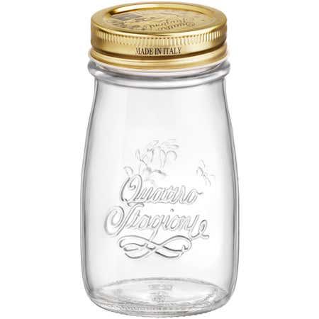 83755_Bormioli_Rocco_Quattro_Stagioni_200ml_Glass_Bottle__Clear