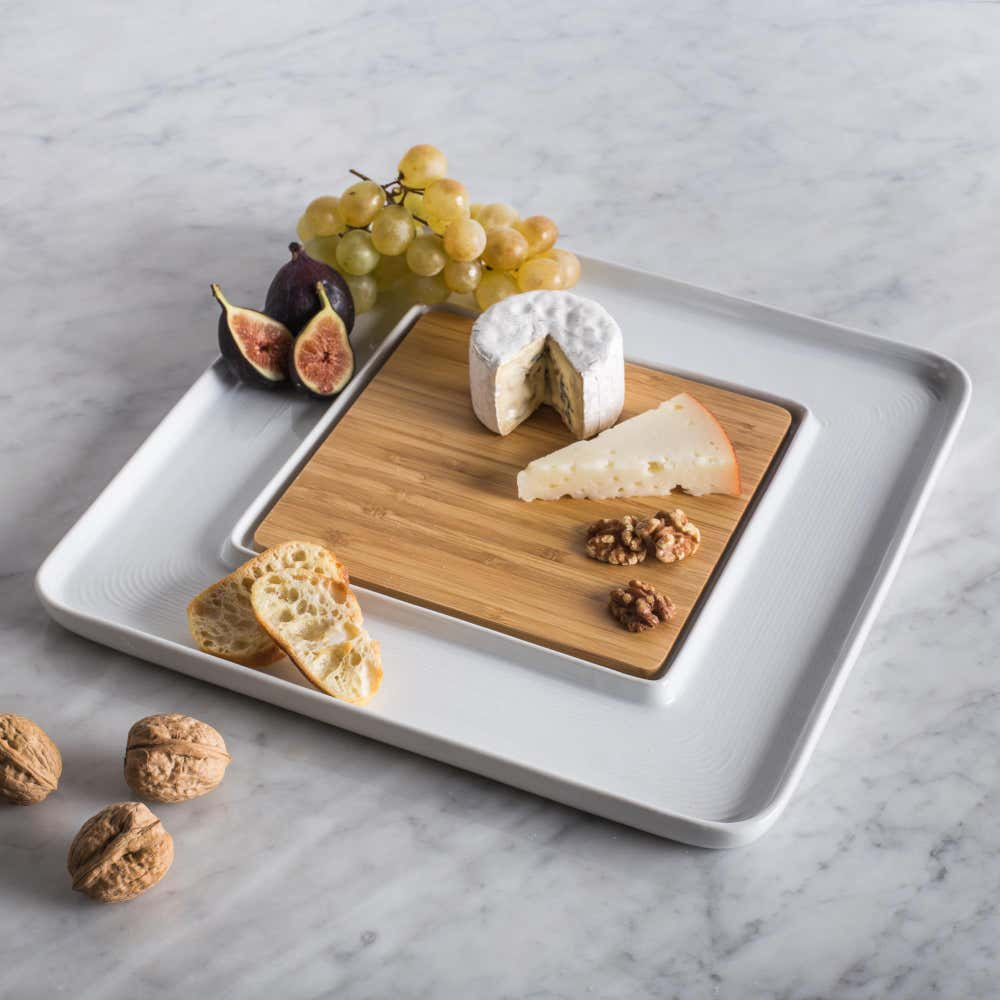 84387_KSP_Aurora_Porcelain_Serve_Plate_with_Bamboo__White