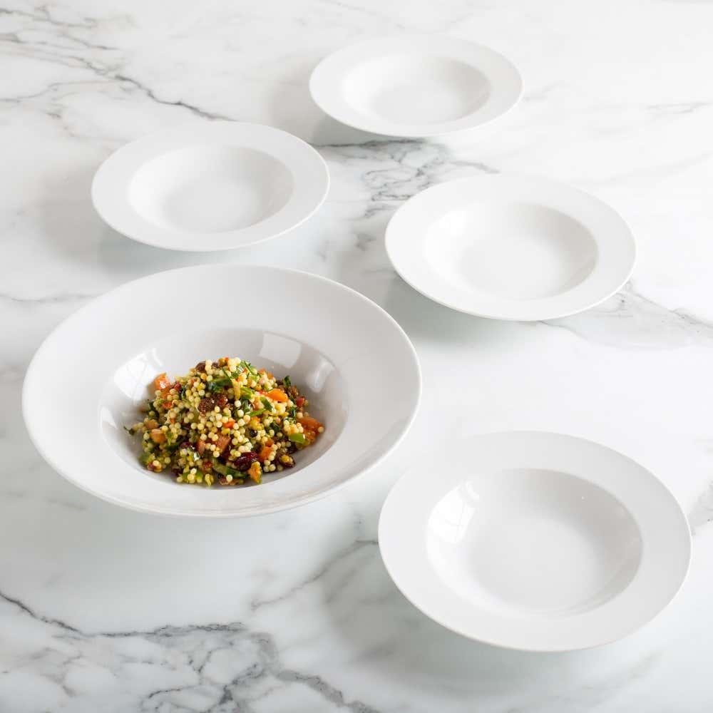 84404_KSP_Tavola_Porcelain_Pasta_Bowl___Set_of_5__White