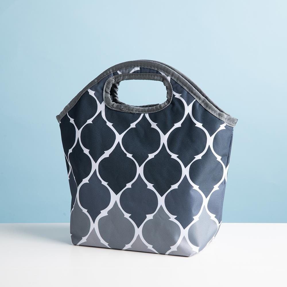 84420_KSP_Bella_'Ogee'_Insulated_Lunch_Bag__Grey