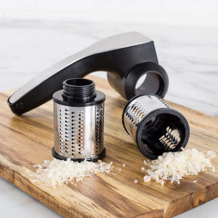 84555_Task_Kitchen_Tools_Reggiano_Rotary_Cheese_Grater_With_2_Drums