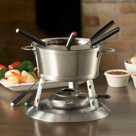 84560_Trudeau_Maison_3_In_1_Fondue___Set_of_11__Stainless_Steel