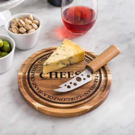 84612_KSP_Artisanal_'Acacia_Wood'_Cheese_Board_With_Knife___Set_of_2