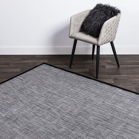 Harman Textaline 'Rio' Vinyl Indoor - Outdoor Mat (Black)