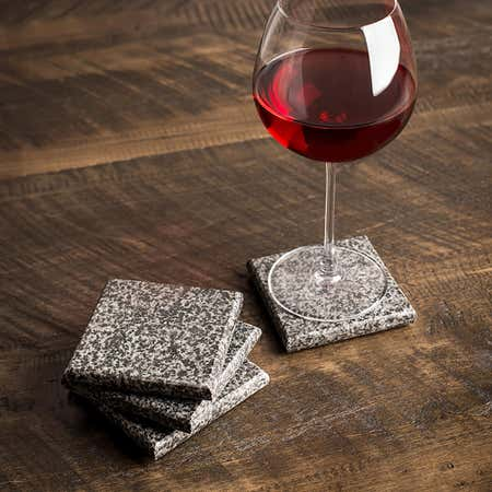 84961_KSP_Granite_Square_Coaster___Set_of_4__Black