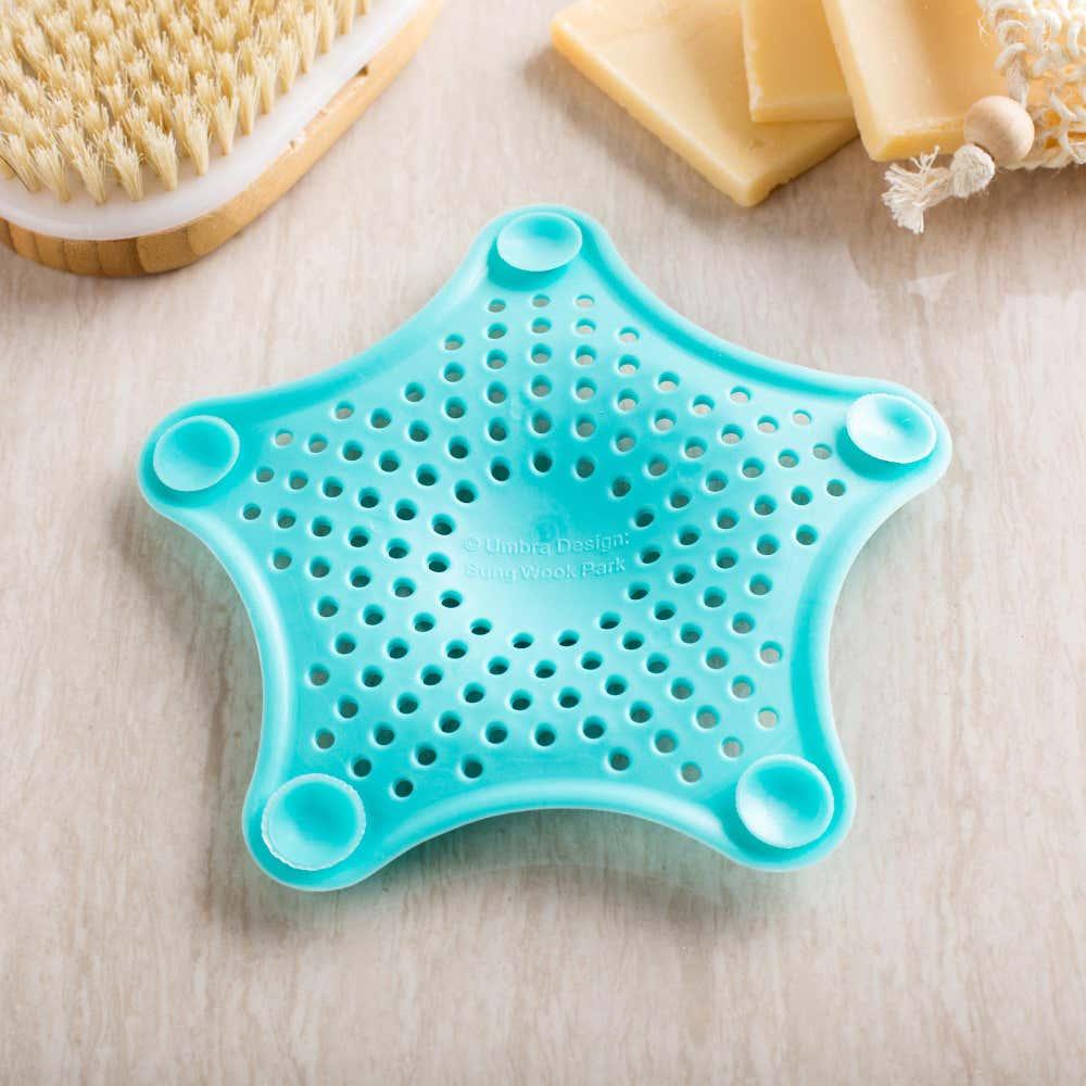 85328_Umbra_Starfish_Hair_Catcher__Surf_Blue