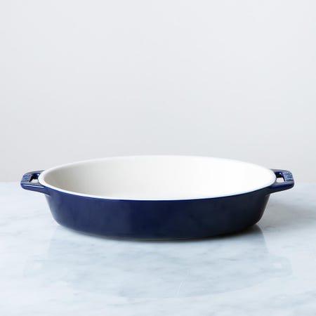 85391_Staub_En_France_Ceramic_Oval_9_x6__Roasting_Dish__Dark_Blue