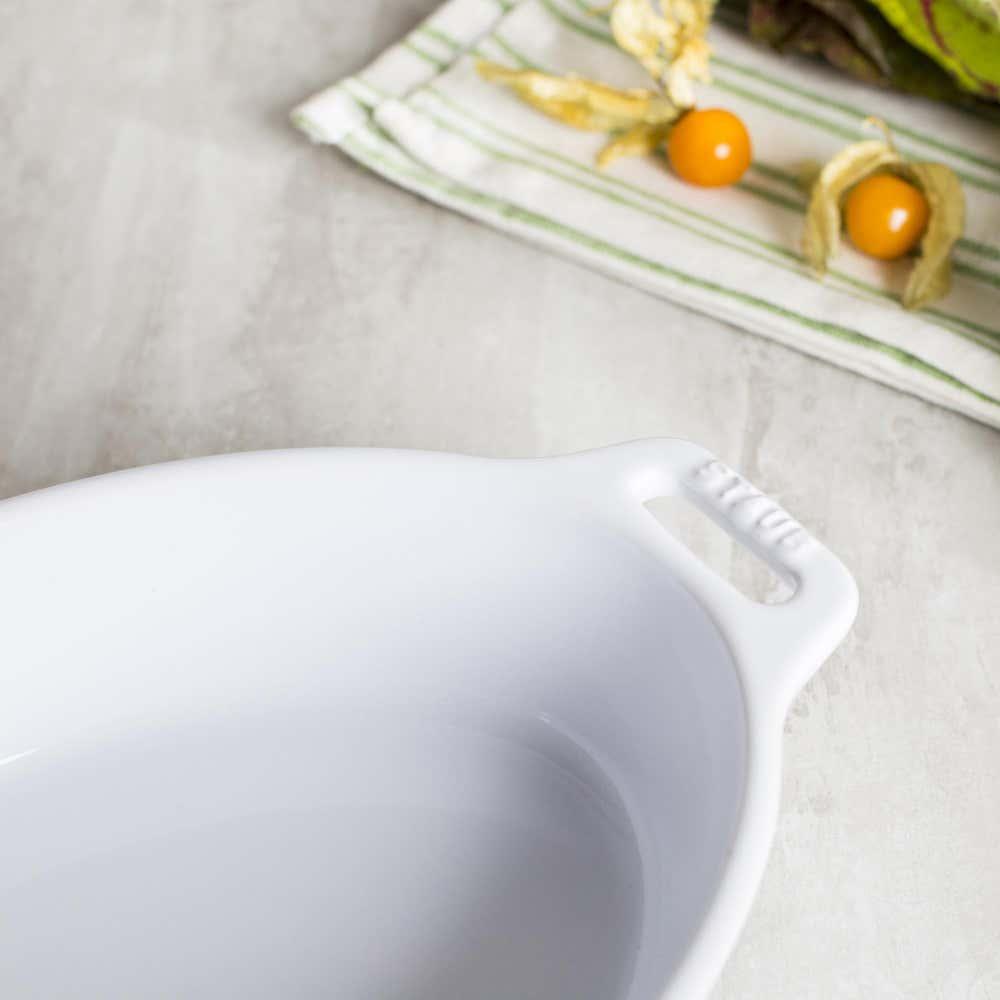 85392_Staub_En_France_Ceramic_Oval_9_x6__Roasting_Dish__White