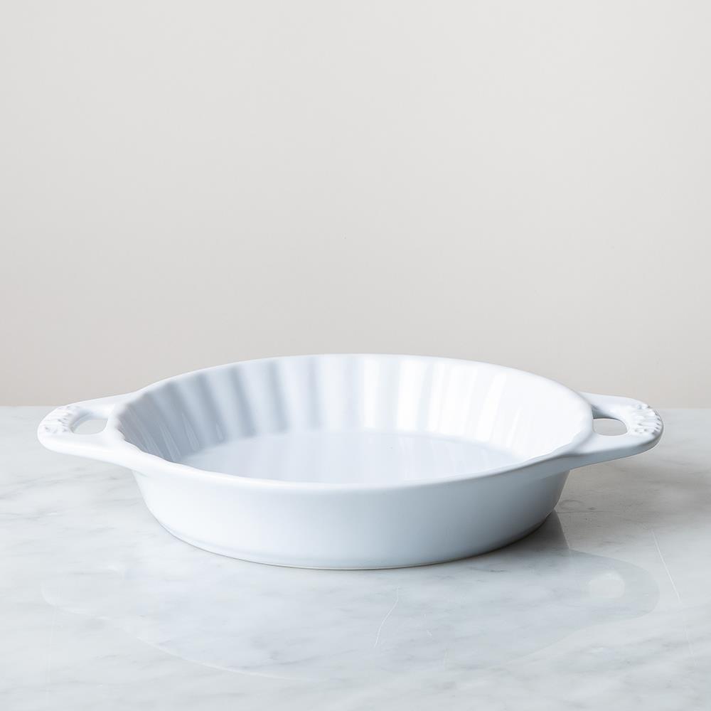 85401_Staub_En_France_Ceramic_9__Pie_Dish__White