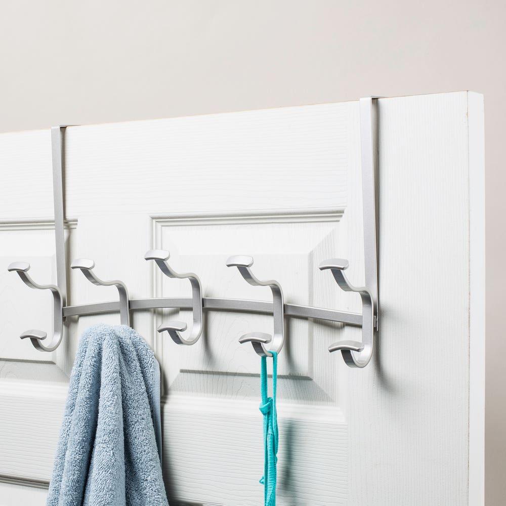 iDesign Spa '5-Peg' Over-The-Door Hook (Satin)