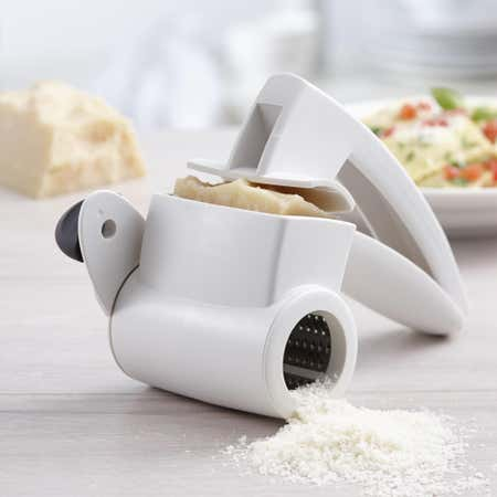 85495_Trudeau_Maison_Rotary_Cheese_Grater__White