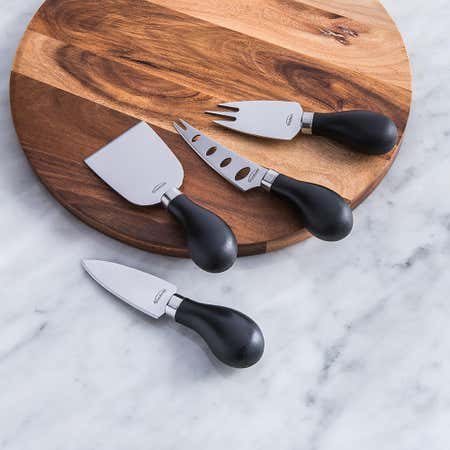 85501_Trudeau_Maison_Cheese_Knives___Set_of_4__Black_Stainless_Steel