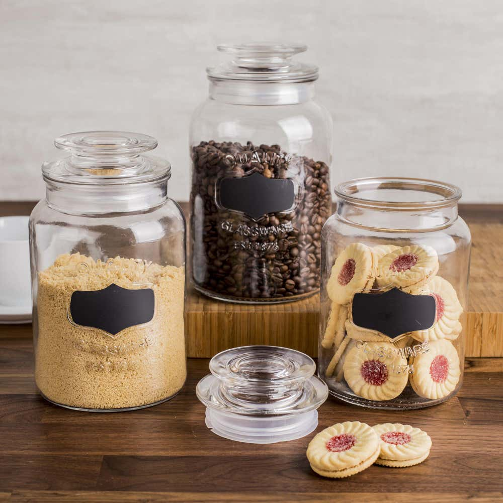 86013_KSP_Quality_Chalkboard_Glass_Canister_with_Lid___Set_of_3