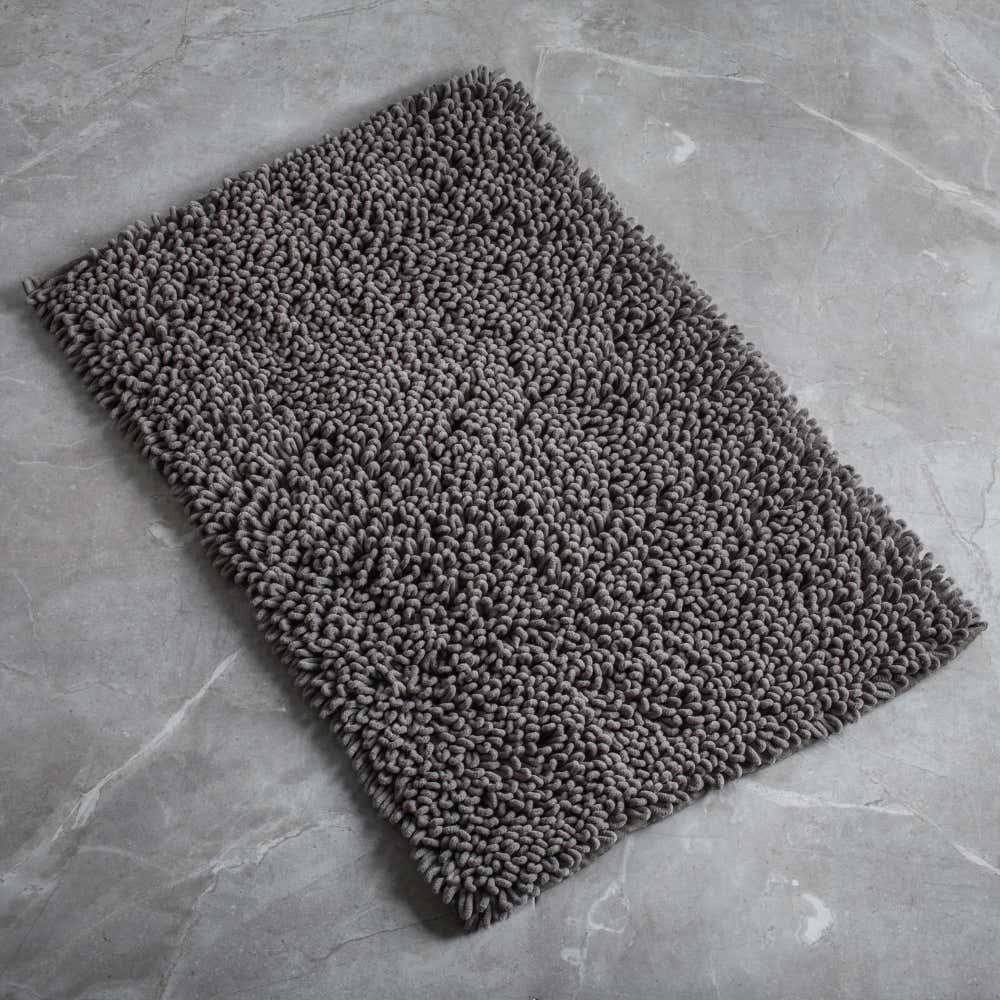86728_Harman_Spa_Loop_Microfiber_Bathmat__Grey