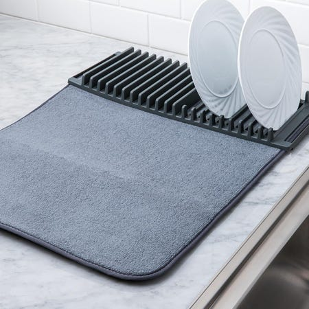 86823_Umbra_Udry_Drying_Mat_with_Rack__Charcoal