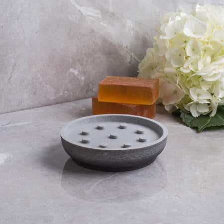 87073_Moda_At_Home_Greystone_Resin_Soap_Dish__Grey