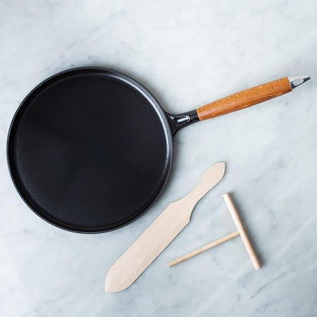 87202_Staub_France_Cast_Iron_11__Crepe_Pan__Black