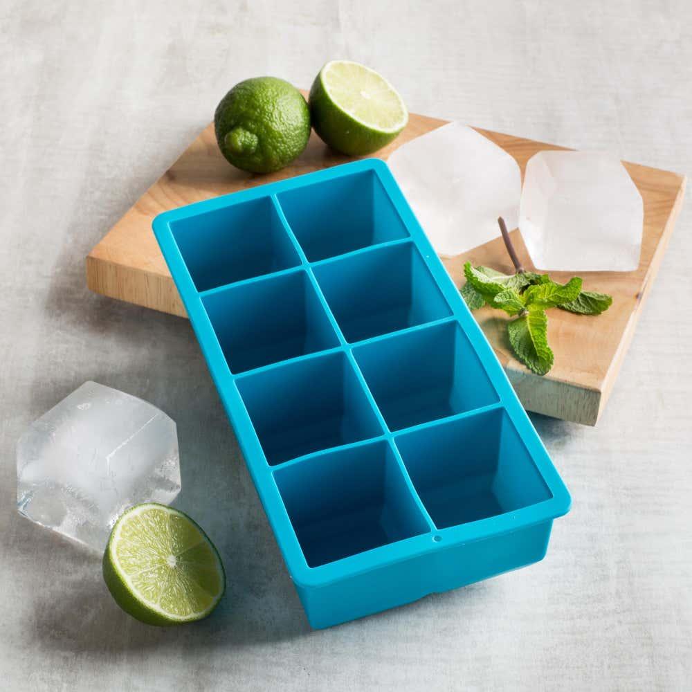 87335_KSP_Colour_Splash_Silicone_Jumbo_Ice_Cube_Tray__Blue