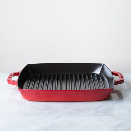 87441_Staub_France_'Double_Handle'_13__Cast_Iron_Square_Grill_Pan__Cherry