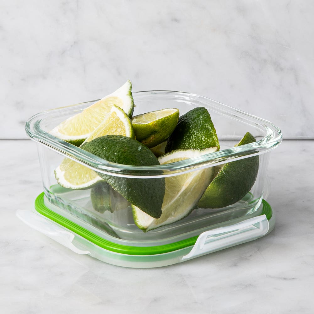 KSP Clip It Glass 495ml Storage Container (Green)