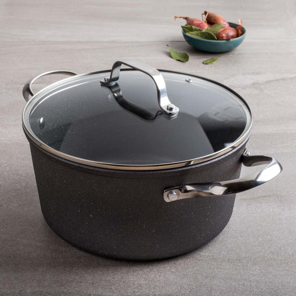 88173_The_Rock_Gourmet_Non_Stick_5L_Dutch_Oven_with_Lid__Grey