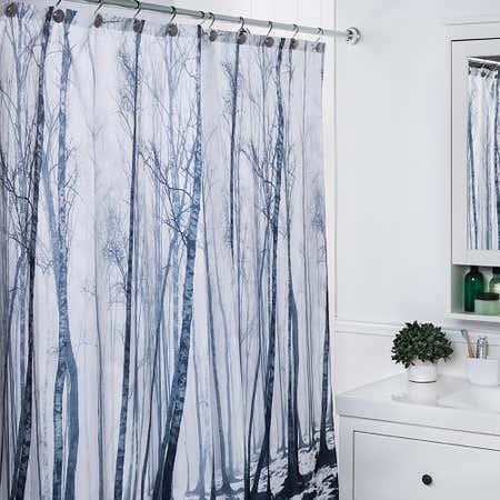 88491_Splash_Polyester_'Fog_Forest'_Shower_Curtain__Black_White