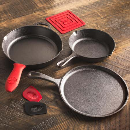 88571_Lodge_Logic_Essential_Frypan_Skillet___Set_of_6__Black