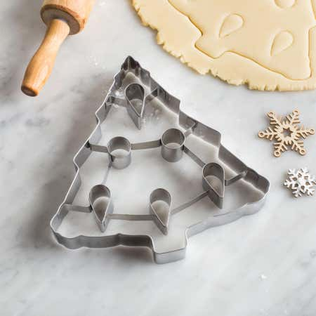 88642_Chloe's_Kitchen_Christmas_Shapes_7___'Xmas_Tree'_Tin_Cookie_Cutter