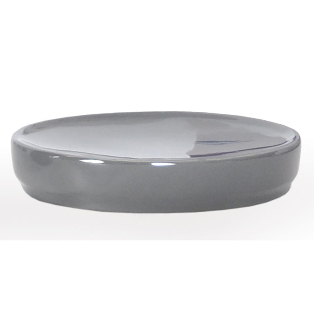 88852_Moda_At_Home_Compel_Ceramic_Soap_Dish__Grey