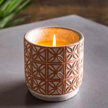 88878_KSP_Gardina_'Embossed'_Citronella_Candle_Cement_Pot__Terracotta