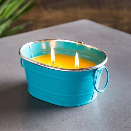88896_KSP_Gardina_'Oval'_Citronella_Candle_Metal_Bucket__Blue
