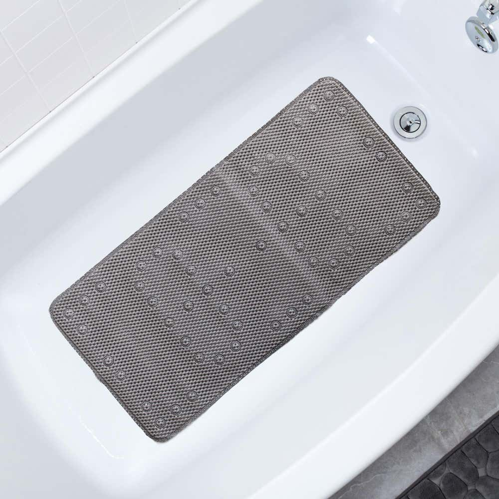 89182_Splash_Softee_PVC_Foam_Tub_Mat__Grey