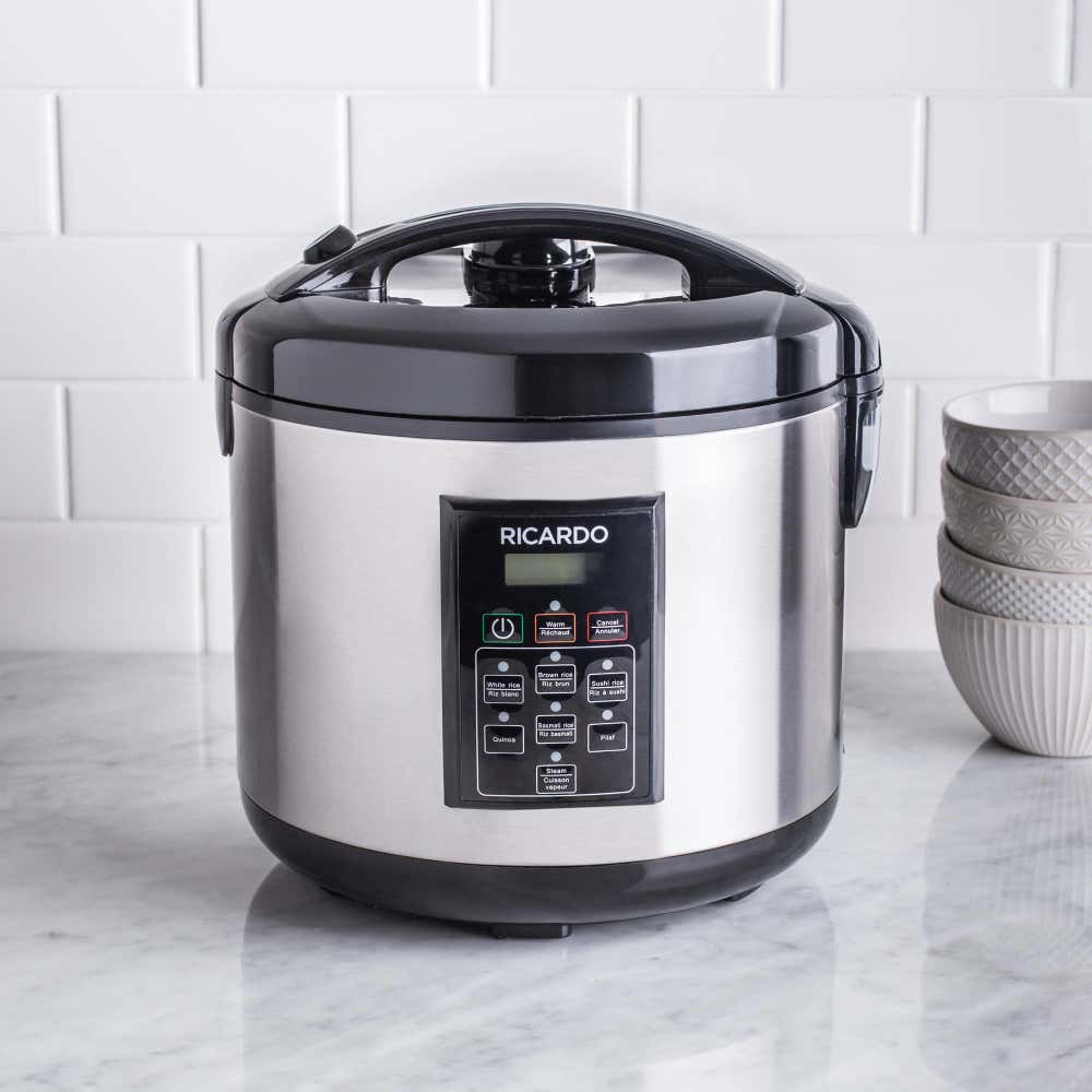 89186_Ricardo_Rice_Cooker_and_Steamer__Brushed_St_Steel