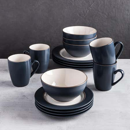 89414_Thomson_Pottery_Kensington_Stoneware_Dinnerware___Set_of_16__Blue