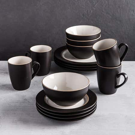 89415_Thomson_Pottery_Kensington_Stoneware_Dinnerware___Set_of_16__Brown