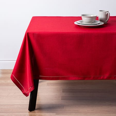 89479_Harman_Hemstitch_60__x_120__Polyester_Tablecloth__Red