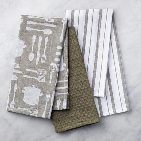 89624_Harman_Combo_'Utensil'_Cotton_Kitchen_Towel___Set_of_3__Olive