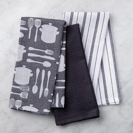 89626_Harman_Combo_'Utensil'_Cotton_Kitchen_Towel___Set_of_3__Black