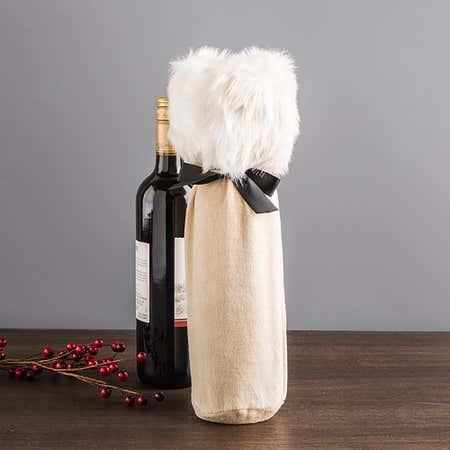 89715_Abbott_Luxe_Velvet___Fur_Wine_Bottle_Bag__Beige