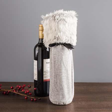 89718_Abbott_Luxe_Velvet___Fur_Wine_Bottle_Bag__Grey