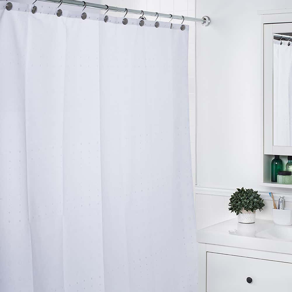 89795_Moda_At_Home_Polyester_'Imperial'_Shower_Curtain__White