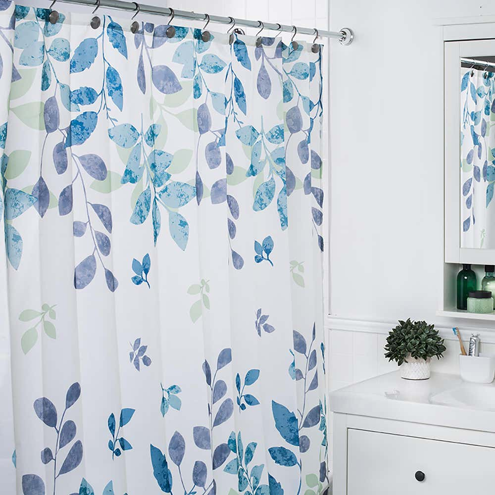 89799_Moda_At_Home_Polyester_'Patience'_Shower_Curtain__Teal_Green