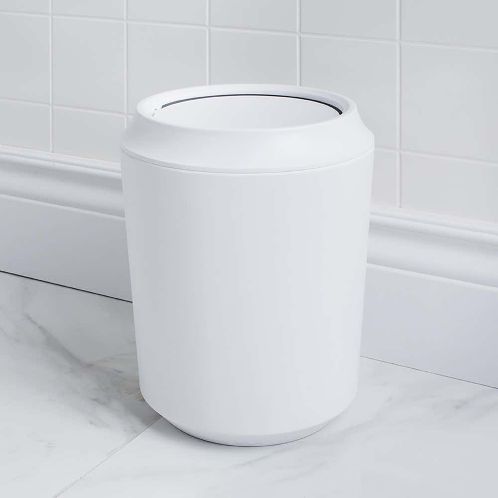 89992_Umbra_Corsa_Melamine_Waste_Can_with_Lid__White